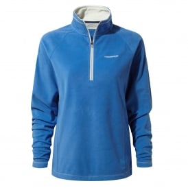 Ladies Seline Half Zip Fleece Bluebell