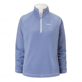 Ladies Seline Half Zip Fleece China Blue