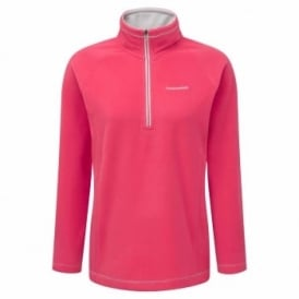 Ladies Seline Half Zip Fleece Watermelon