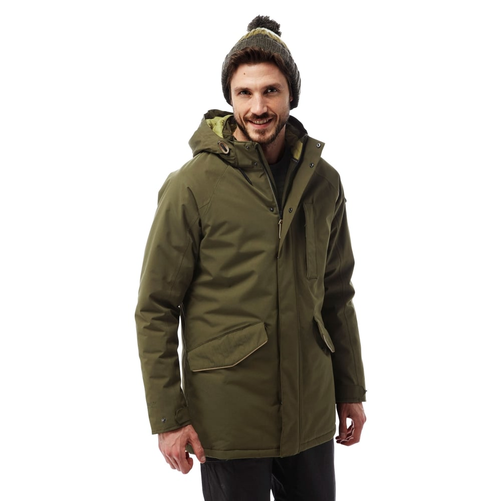 dfae6ce6c8f Craghoppers Mens 250 Jacket Dark Moss