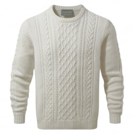 Mens Aron Knit Jumper Calico