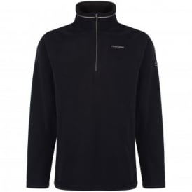 Mens Corey III Overhead Fleece Black