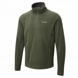 Mens Corey III Overhead Fleece Evergreen