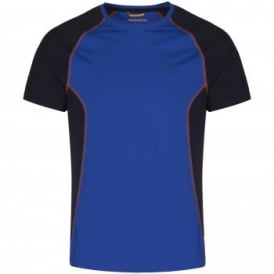 Mens D of E Vitalise Base T-Shirt Cobalt/Dark Navy