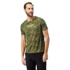 Mens DA Short Sleeve T-Shirt Dark Moss