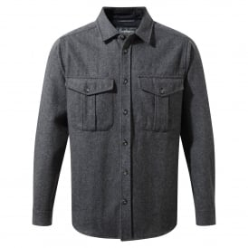 Mens Dofri Wool Jacket Dark Grey