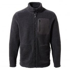 Mens Edvin Fleece Jacket Black Pepper