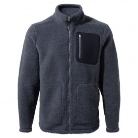Mens Edvin Fleece Jacket Ombre Blue