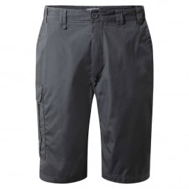 Mens Kiwi Long Shorts Black Pepper