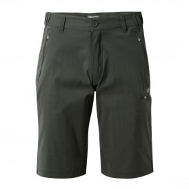 Mens Kiwi Pro Stretch Long Shorts Dark Lead