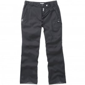 Mens Kiwi Pro Stretch Trousers Dark Lead