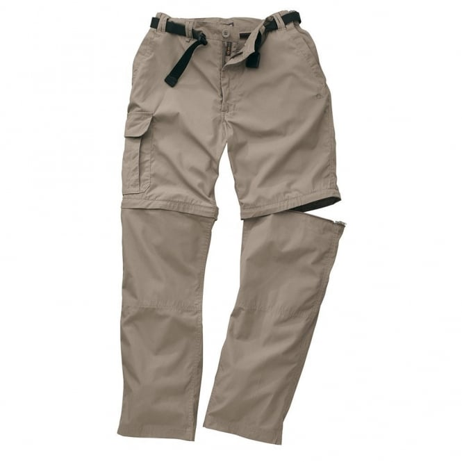 Craghoppers Mens Kiwi Zip Off Trousers Beach