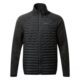 Mens Midas Hybrid Jacket Black