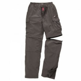 Mens Nosi Life Convert Trousers Black Pepper
