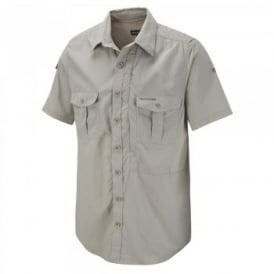 Mens Nosi Life Short Sleeve Shirt Parchment