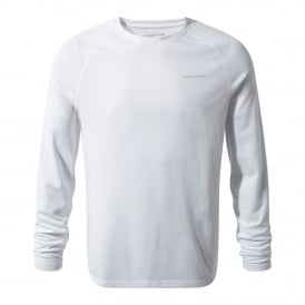 Mens NosiLife Bayame Long Sleeve Optic White