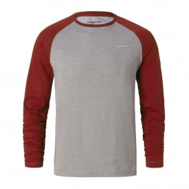 Mens NosiLife Bayame Long Sleeve Red Earth