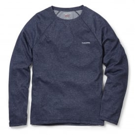 Mens NosiLife Bayame Long Sleeve T-Shirt Soft Navy