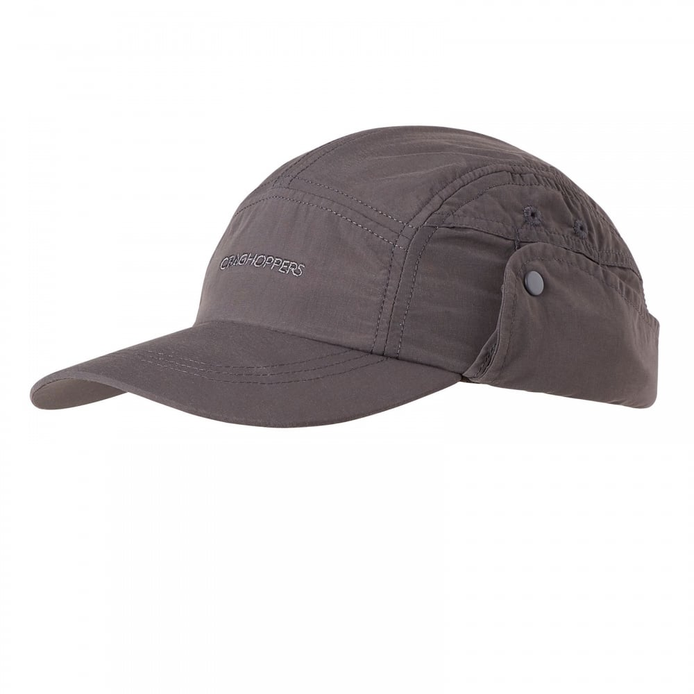 3410bd5a Craghoppers Mens NosiLife Desert Hat Black Pepper - Mens from Great ...