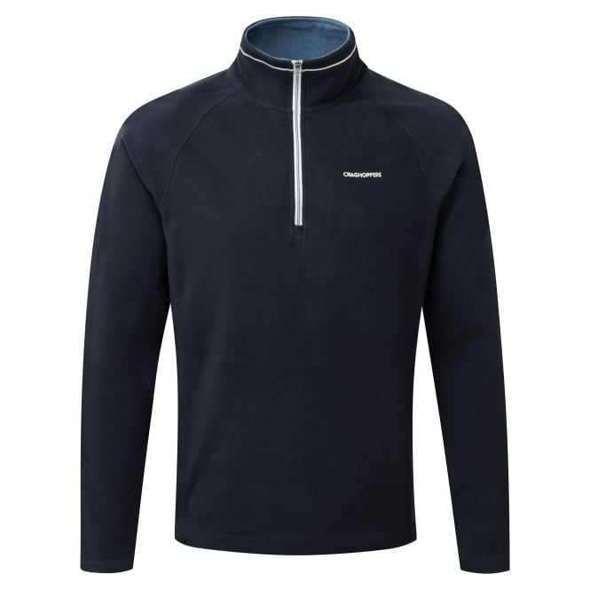 Craghoppers Mens Selby Half Zip Fleece Dark Navy