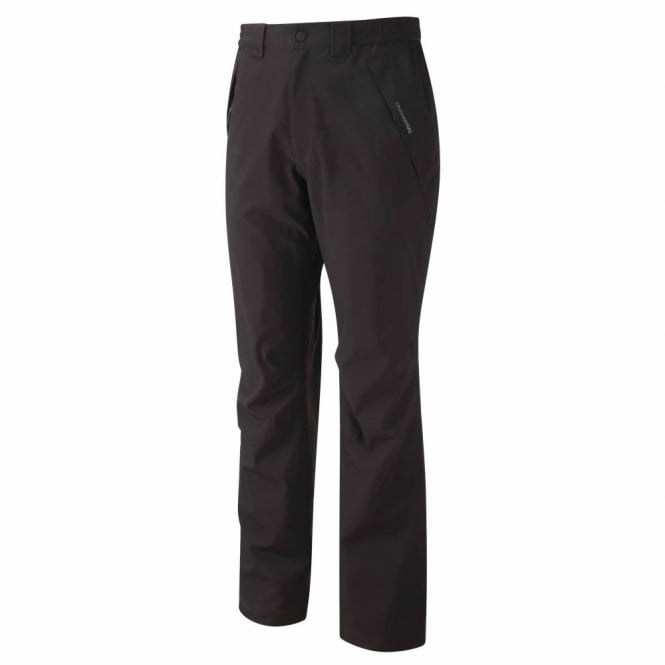 Craghoppers Mens Stefan Waterproof Trousers Black
