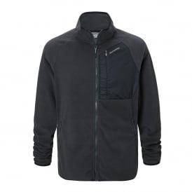 Mens Timor Fleece Jacket Black Pepper