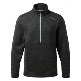 Mens Vector Half Zip Fleece Black
