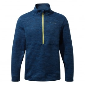 Mens Vector Half Zip Fleece Deep Blue