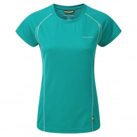 Vitalise Base T-Shirt Bright Turquoise