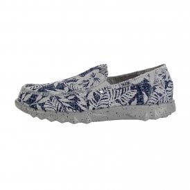 Mens Farty Print Shoe Navy