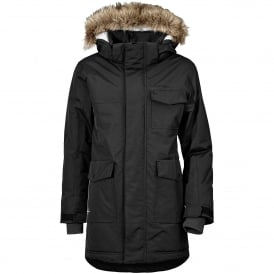Boys Matt Parka Black