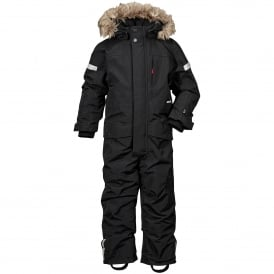 Kids Bjornen Coverall Black