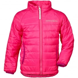 Kids Dundret Jacket Fuchsia