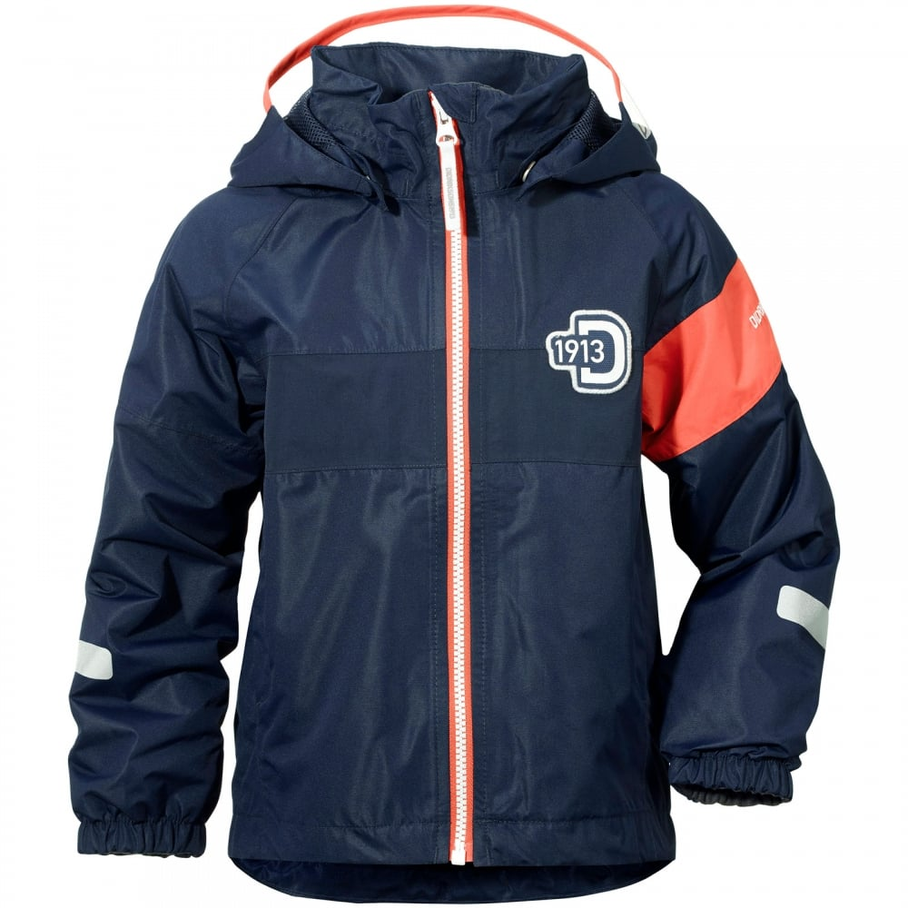 4324c0aa743c Didriksons Kids Kalix Jacket Navy - Kids from Great Outdoors UK