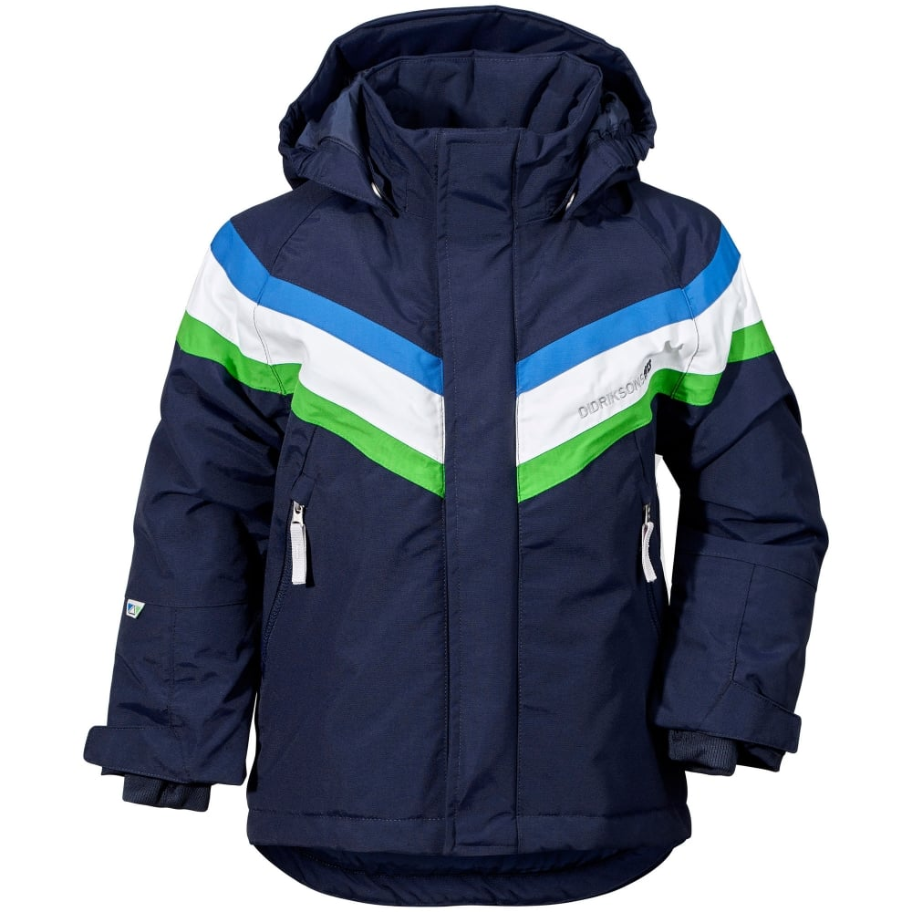 ae07a83f0 Didriksons Kids Safsen Jacket Navy - Kids from Great Outdoors UK