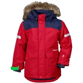 Kids Storlien Jacket Red