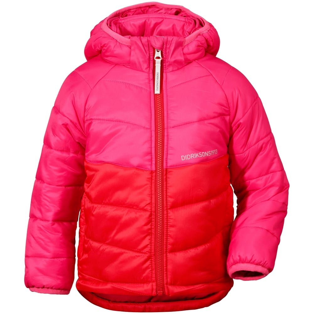 af635ff44358 Didriksons Kids Sunne Jacket Red - Kids from Great Outdoors UK