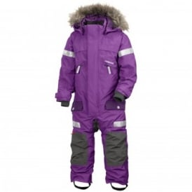 Kids Theron Coveralls Amethyst