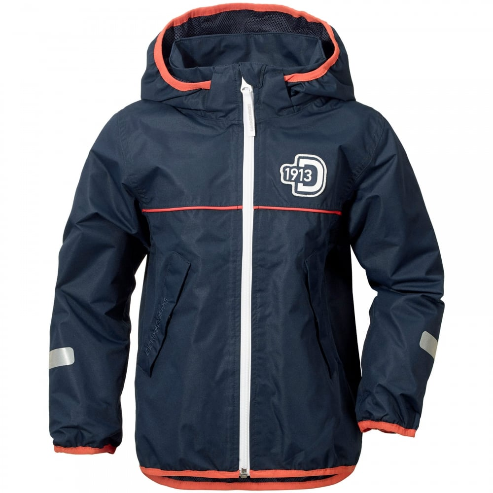ea5498b7c Didriksons Kids Viskan Jacket Navy - Kids from Great Outdoors UK