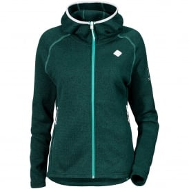 Ladies Cimi Fleece Jacket Dark Aqua