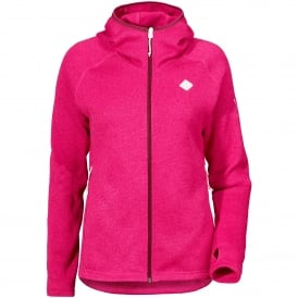 Ladies Cimi Fleece Jacket Fuchsia