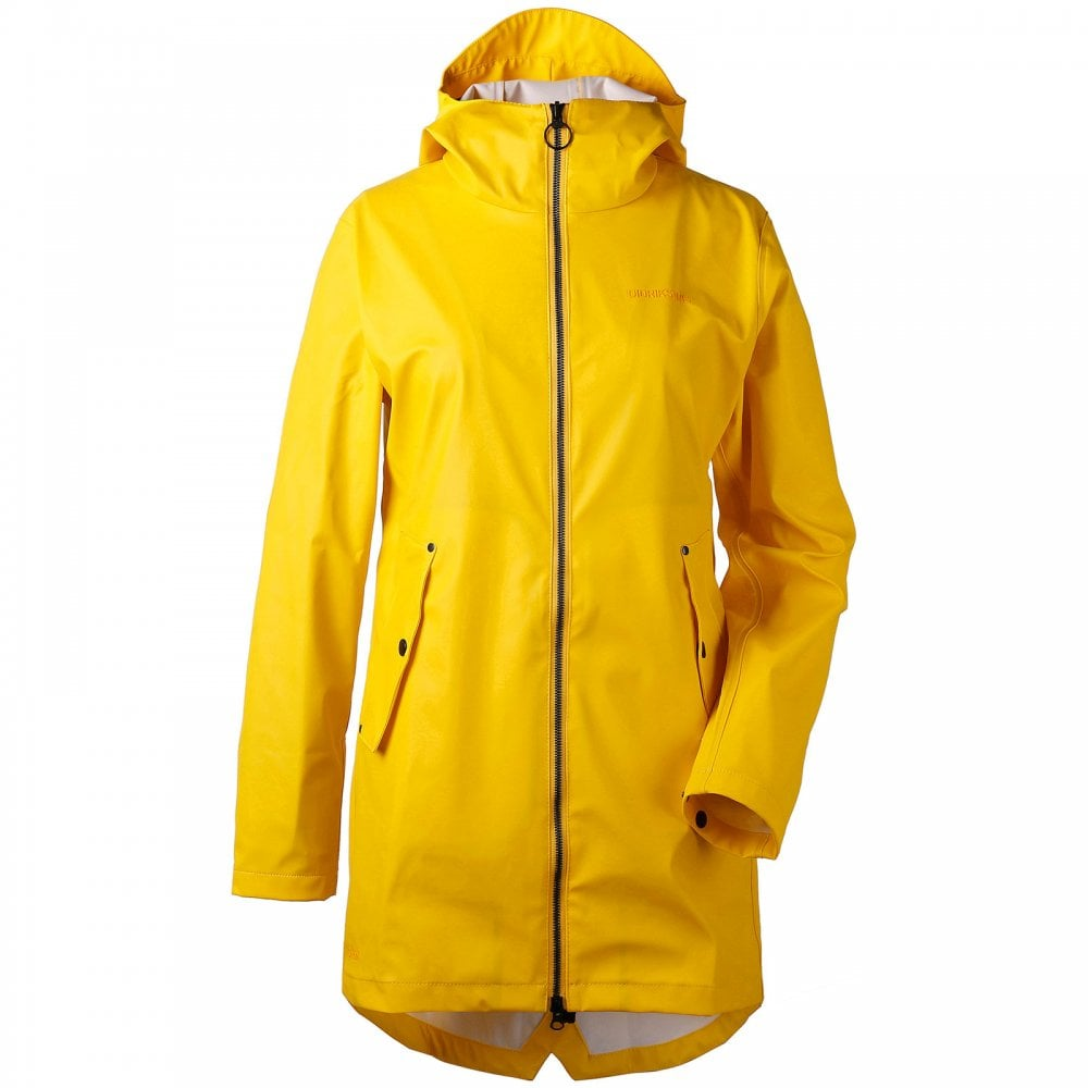 e21abccc92 Didriksons Ladies Daisy Jacket Yellow - Ladies from Great Outdoors UK