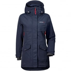 Ladies Frida Parka Navy