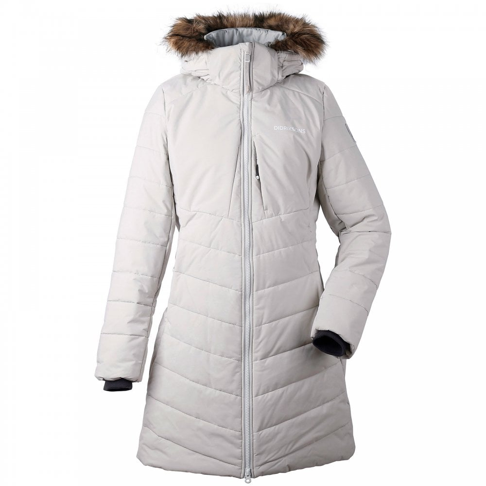 6c192390aa Didriksons Ladies Natasha Parka Aluminium - Ladies from Great ...