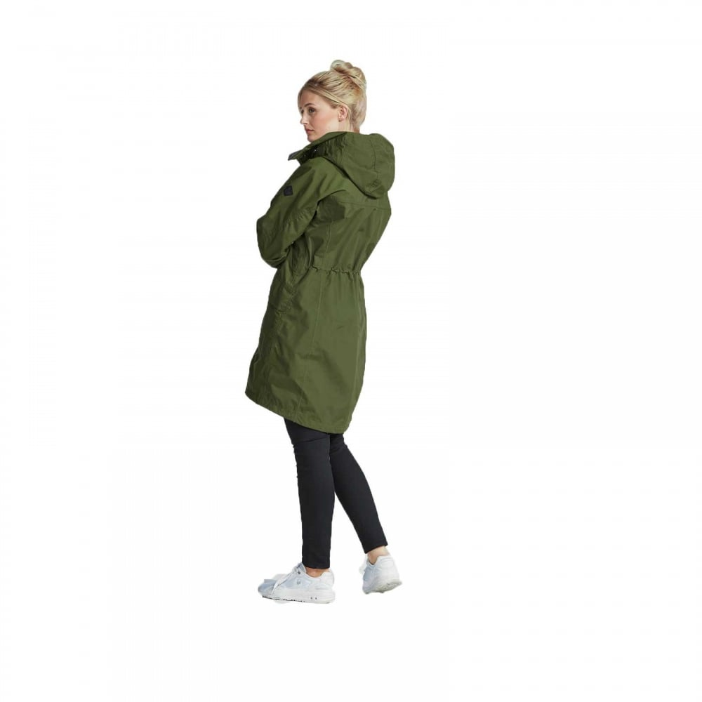 518bf97e821 Didriksons Ladies Thelma Parka Peat - Ladies from Great Outdoors UK