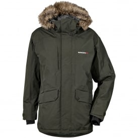 Mens Marc Parka Dark Green