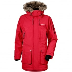 Mens Marcel Parka Red