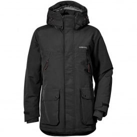 Mens Phil Parka Black
