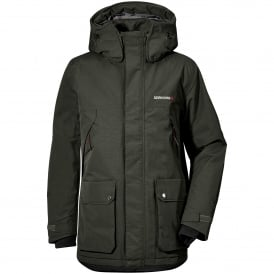 Mens Phil Parka Dark Green