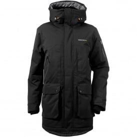 Mens Trew Jacket Coal Black